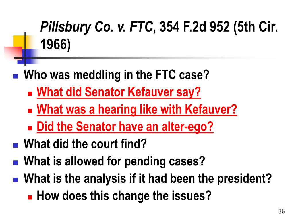 Pillsbury Co. v. FTC