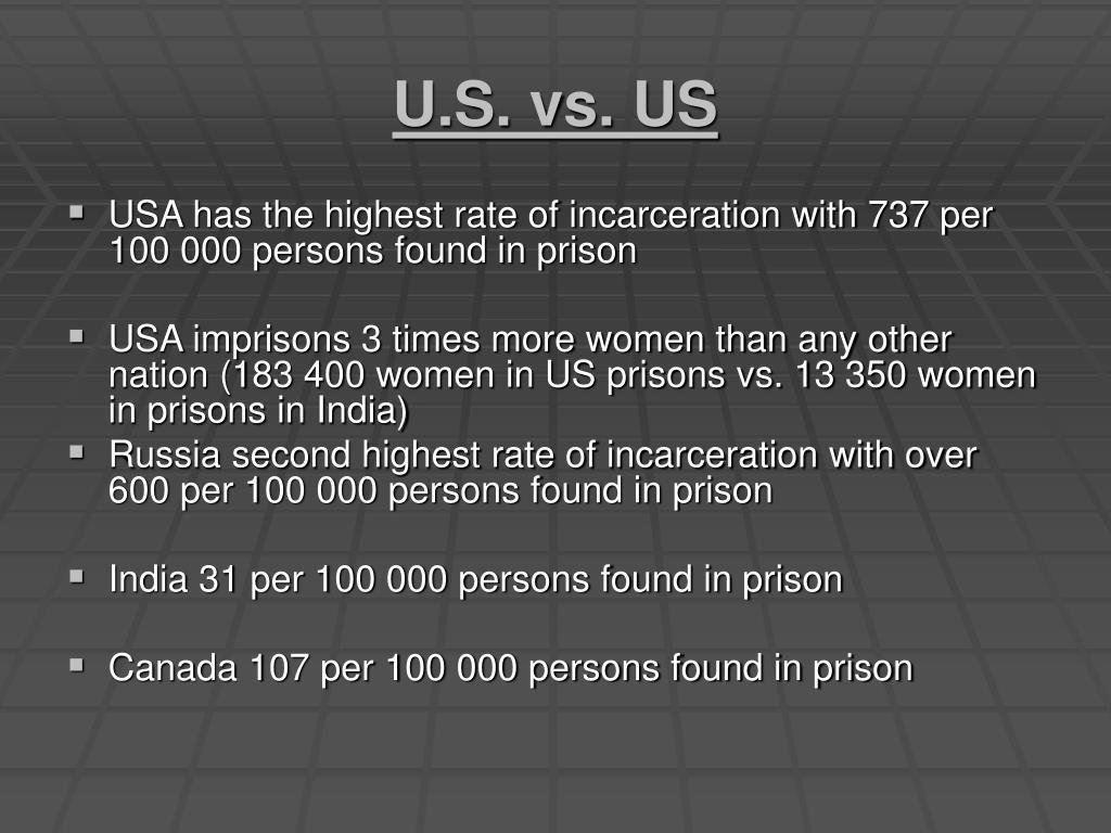 U.S. vs. US