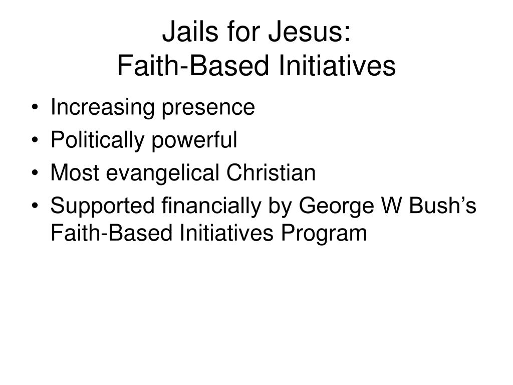 Jails for Jesus: