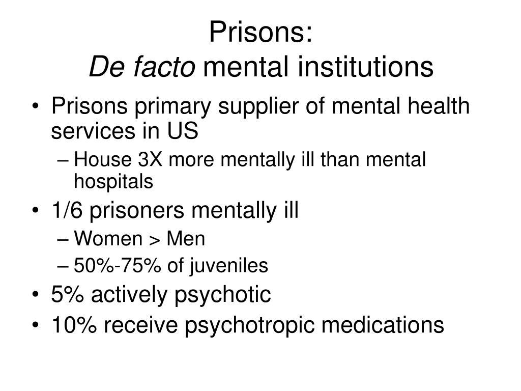 Prisons: