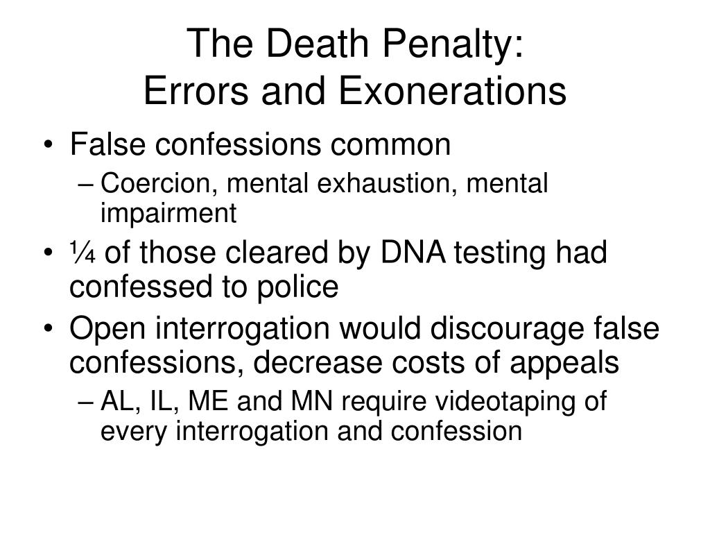 The Death Penalty: