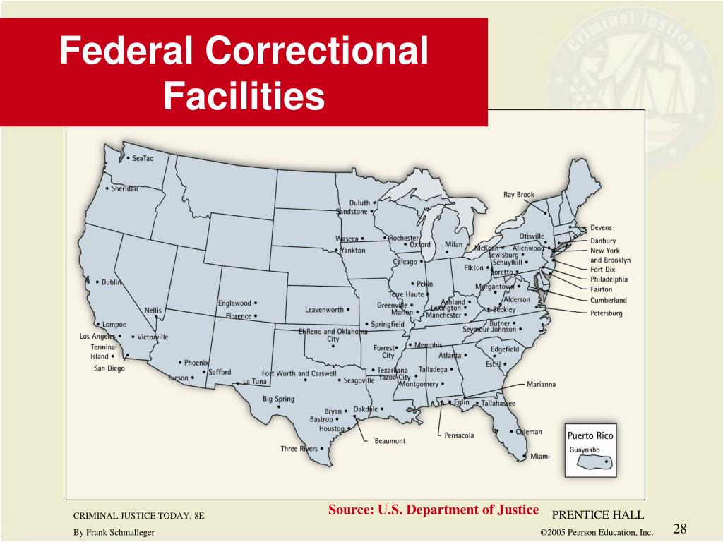 Federal Correctional Facilities