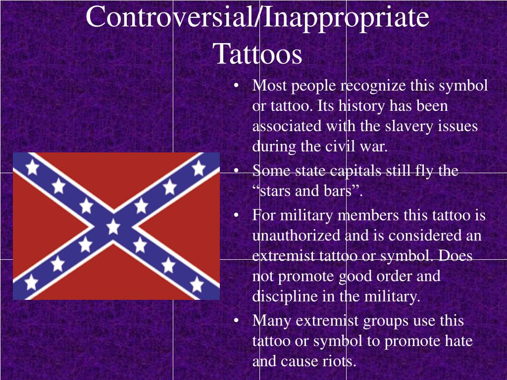 Controversial/Inappropriate Tattoos