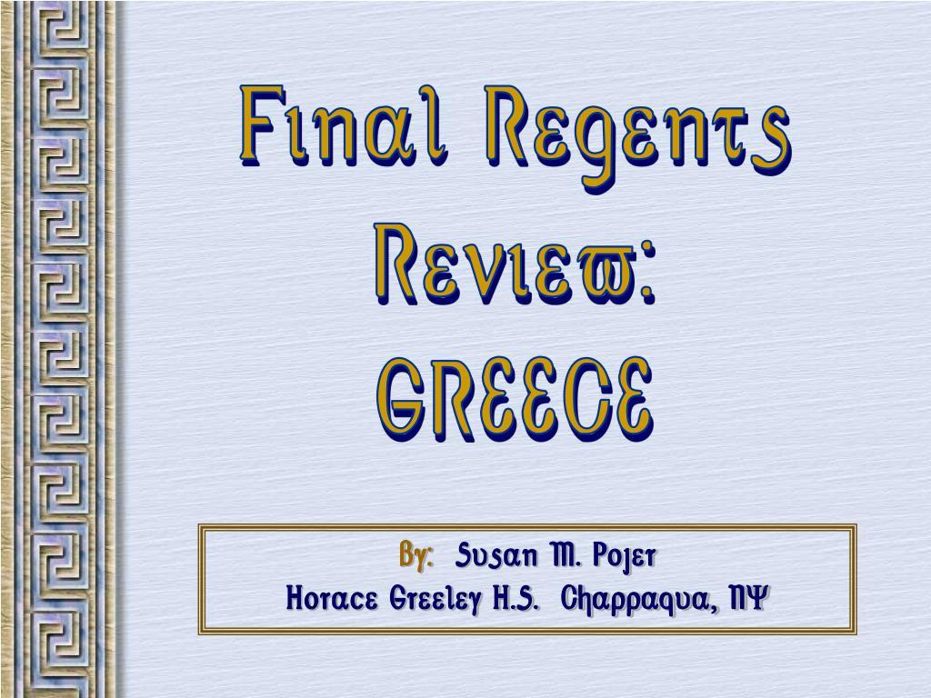 Final Regents