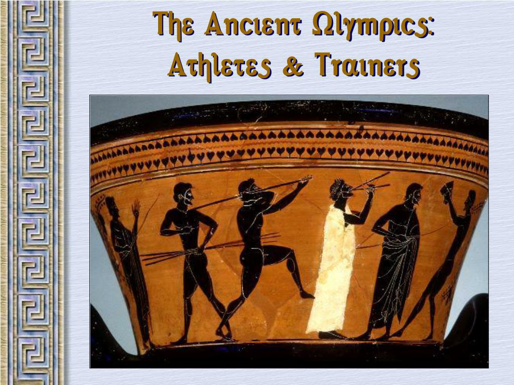 The Ancient Olympics: