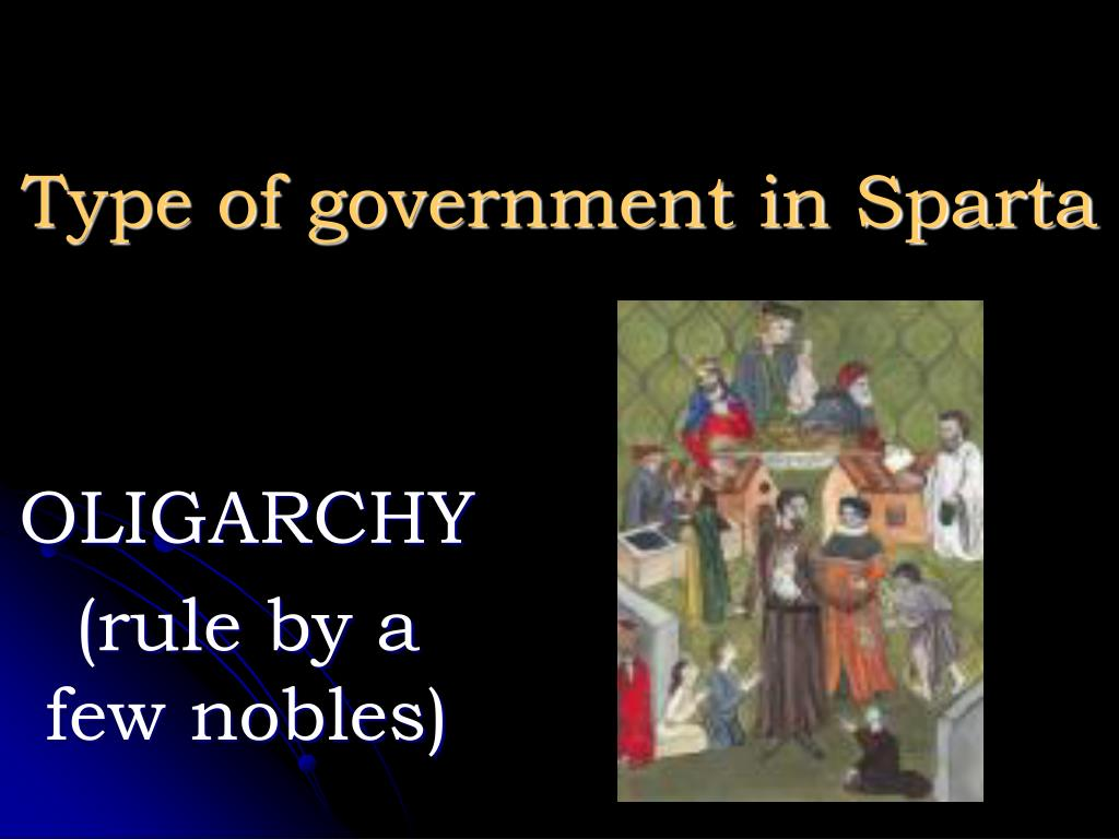 Type of government in Sparta