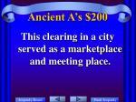 ancient a s 200