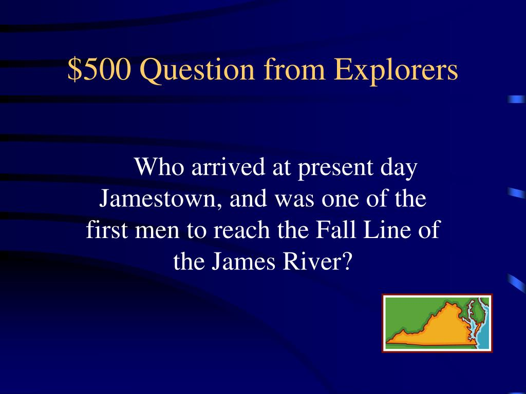 $500 Question from Explorers