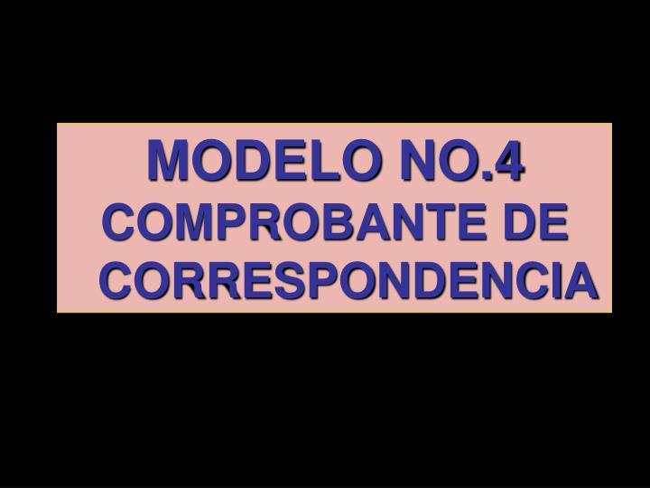 MODELO NO.4