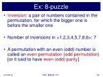 ex 8 puzzle25