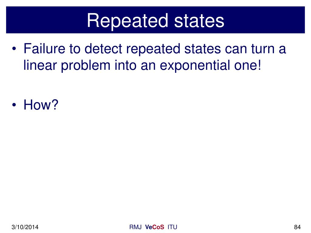 Repeated states