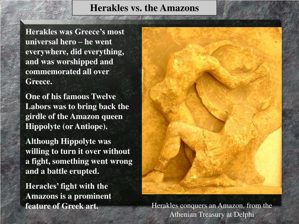 Herakles vs. the Amazons