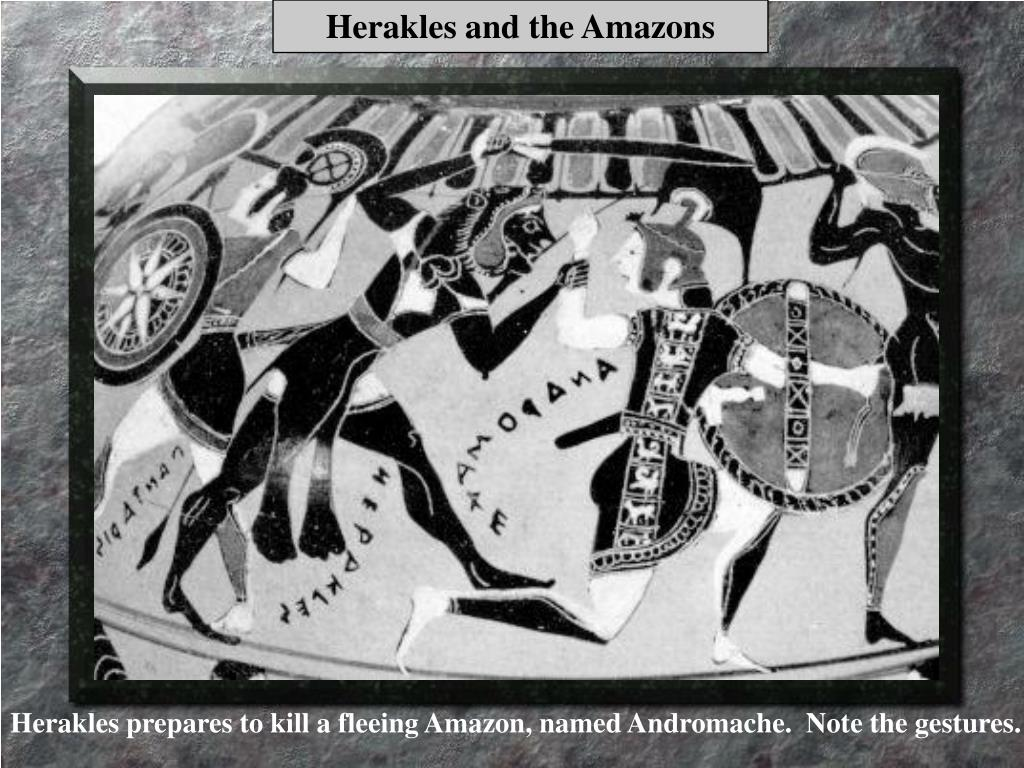 Herakles and the Amazons