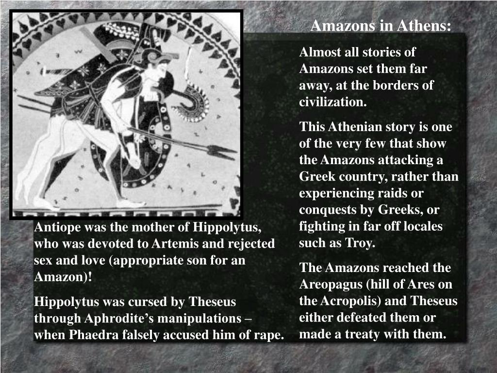 Amazons in Athens: