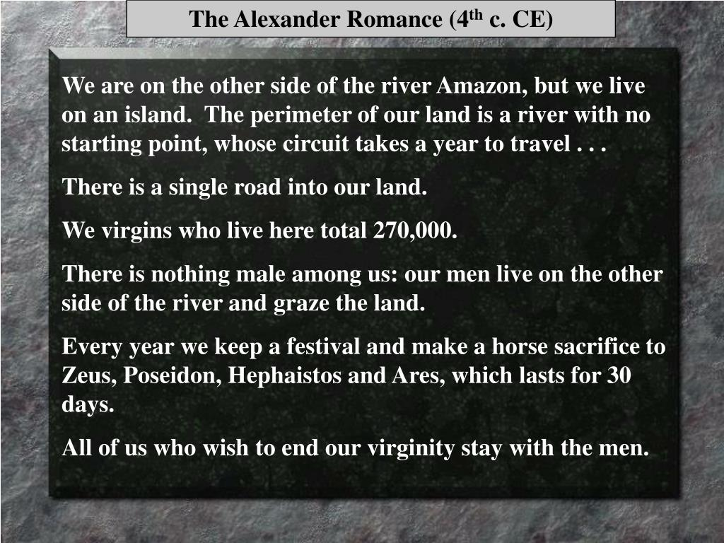 The Alexander Romance (4