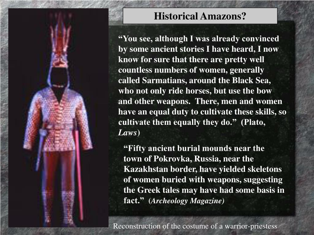 Historical Amazons?