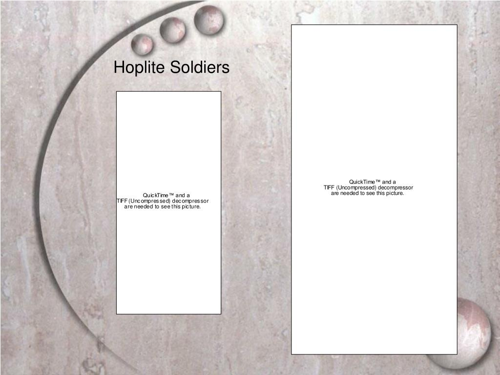 Hoplite Soldiers