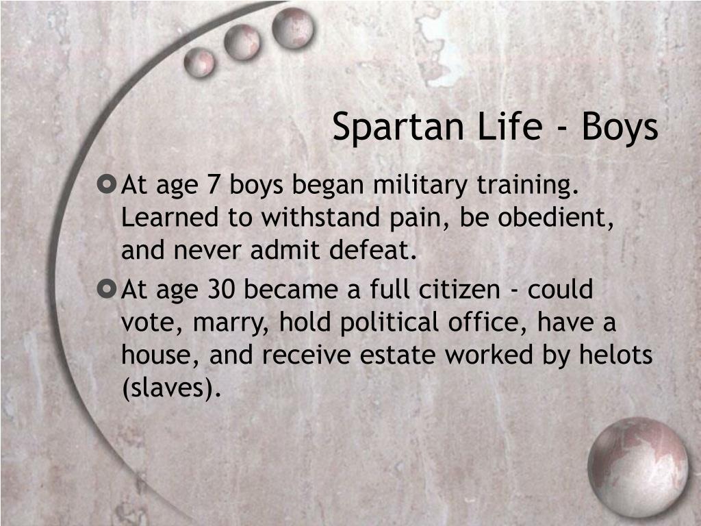 Spartan Life - Boys
