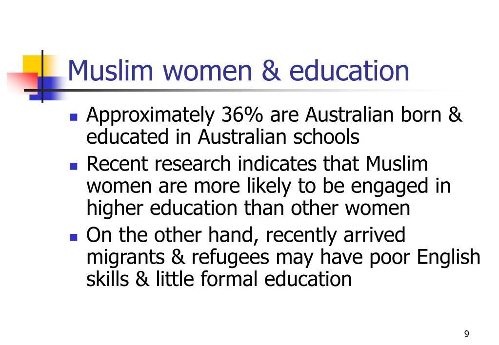 Muslim women & education
