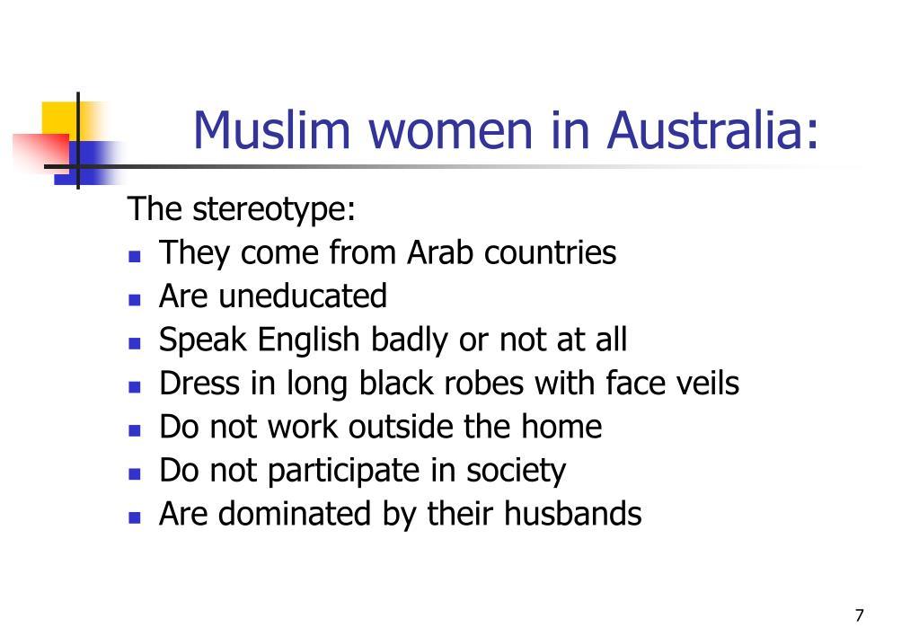 Muslim women in Australia: