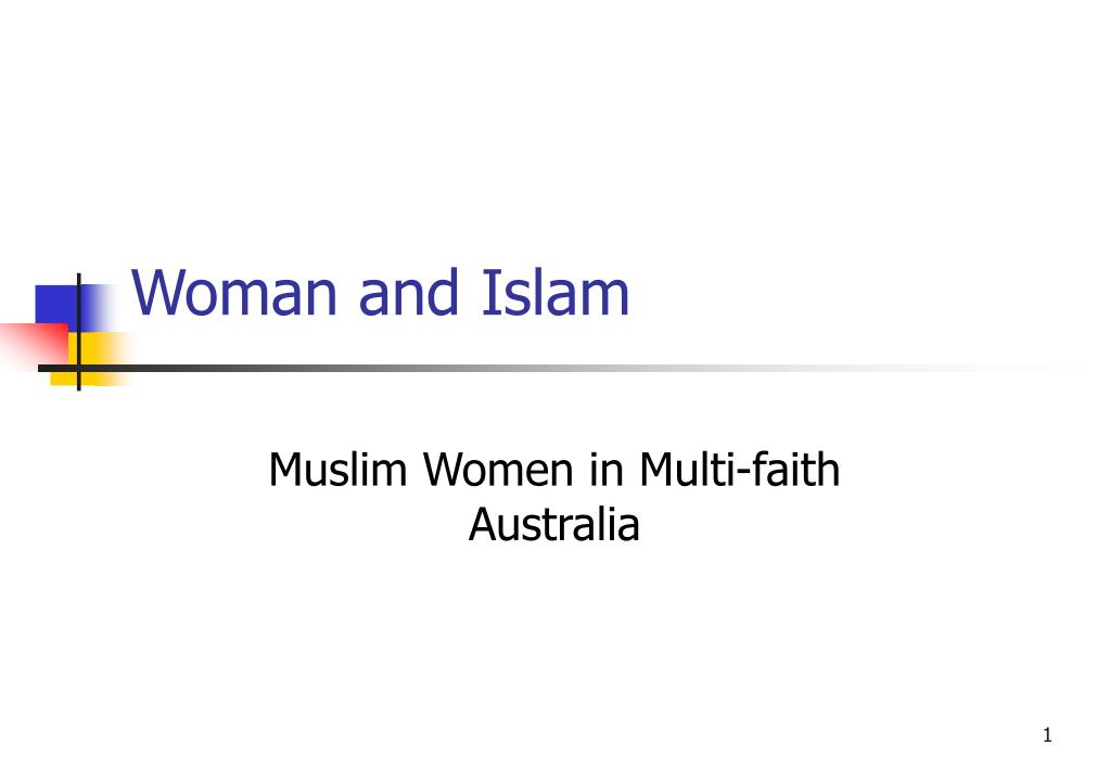 Woman and Islam