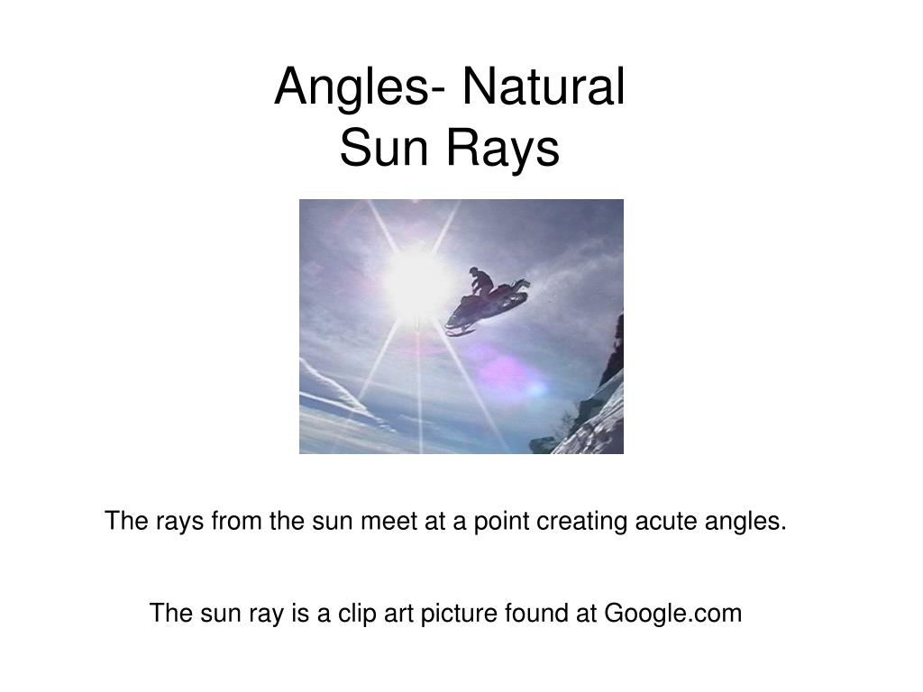 Angles- Natural