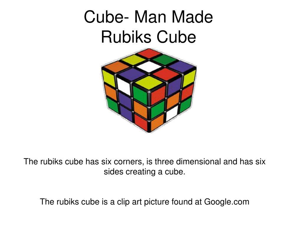 Cube- Man Made