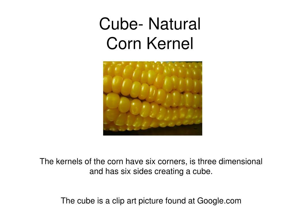 Cube- Natural