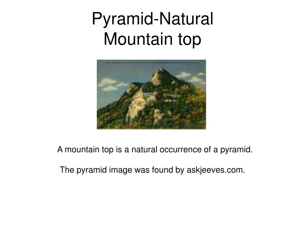 Pyramid-Natural