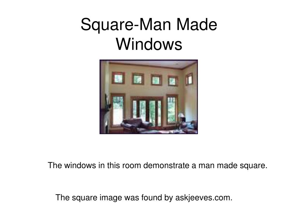 Square-Man Made