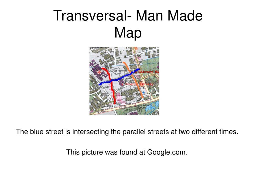 Transversal- Man Made