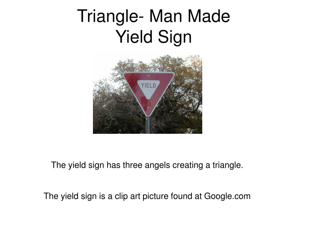Triangle- Man Made