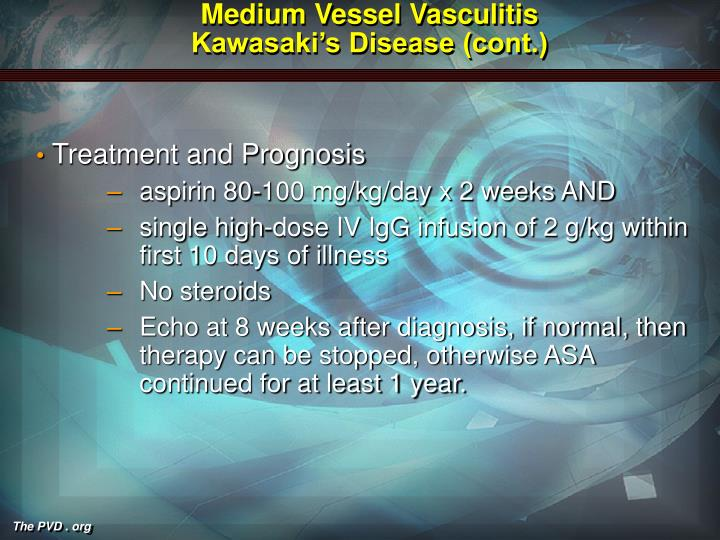 Medium Vessel Vasculitis