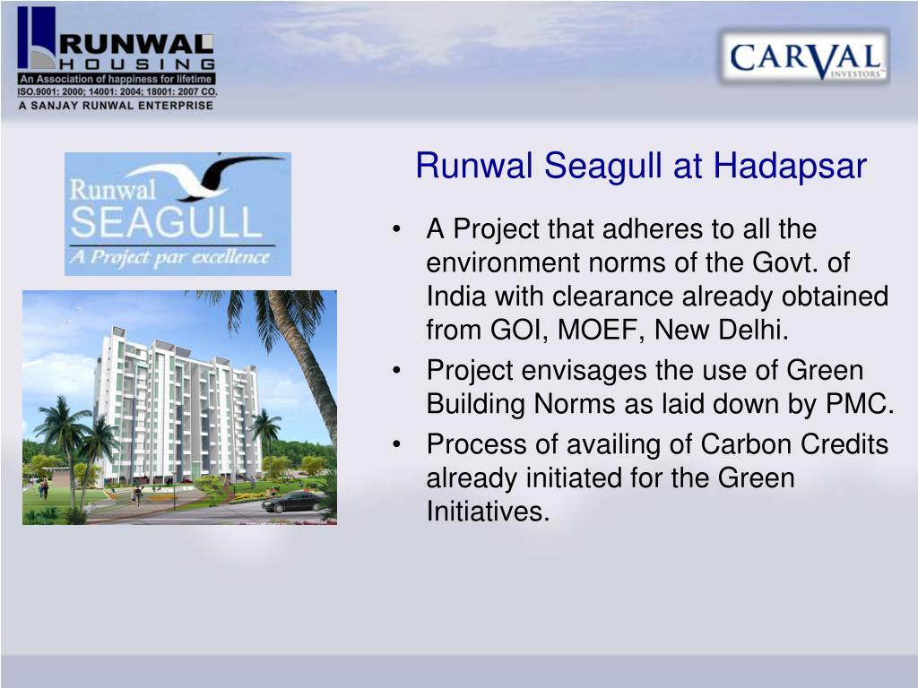 Runwal Seagull at Hadapsar