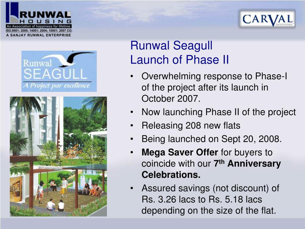 Runwal Seagull