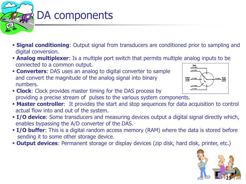 DA components