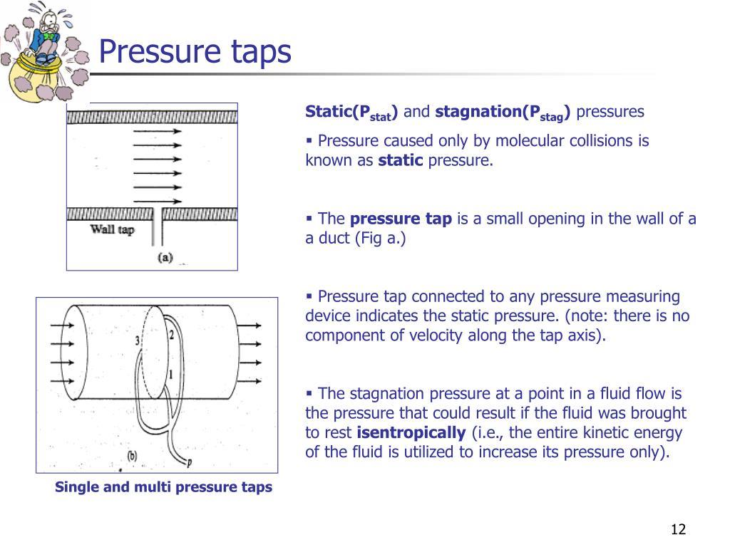 Pressure taps