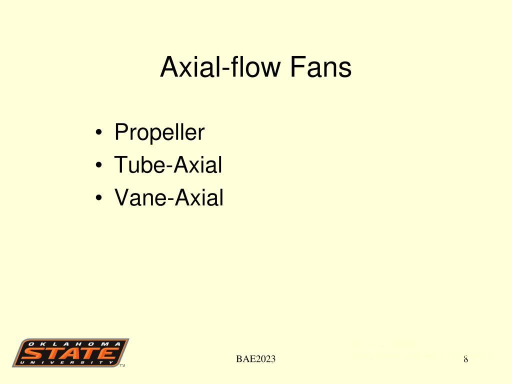Axial-flow Fans