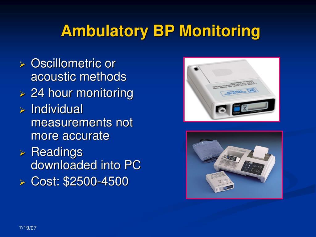 Ambulatory BP Monitoring