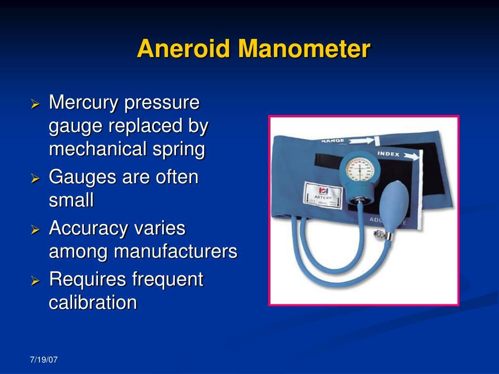 Aneroid Manometer