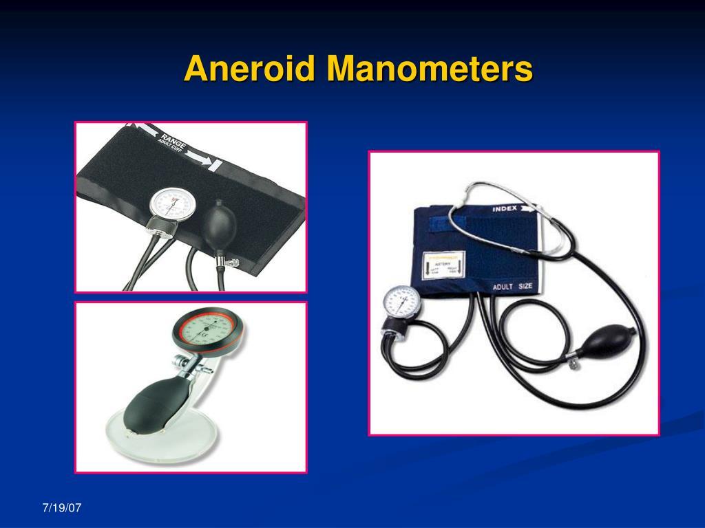 Aneroid Manometers