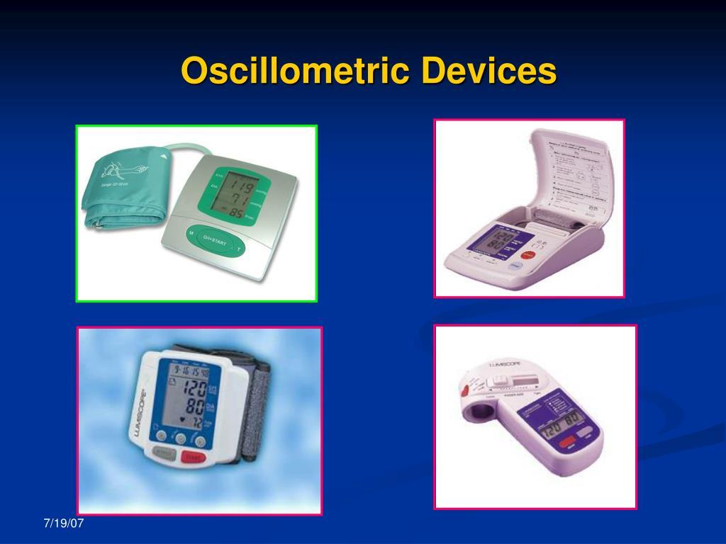 Oscillometric Devices