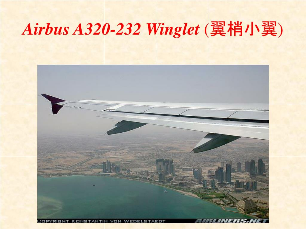 Airbus A320-232 Winglet