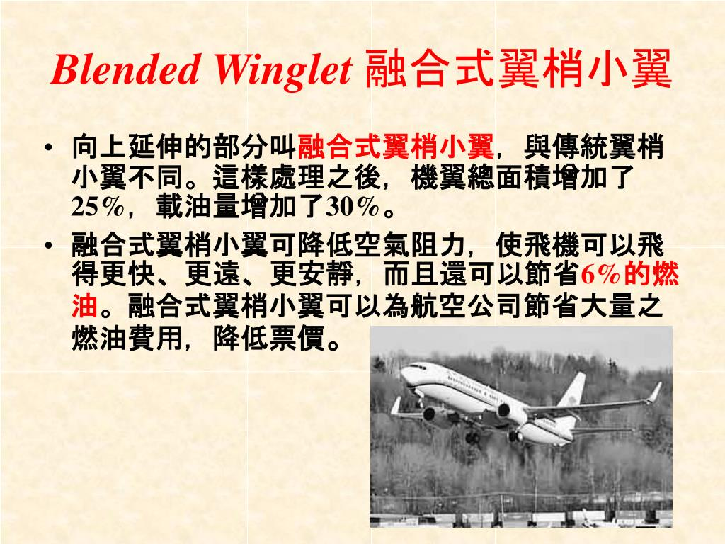 Blended Winglet