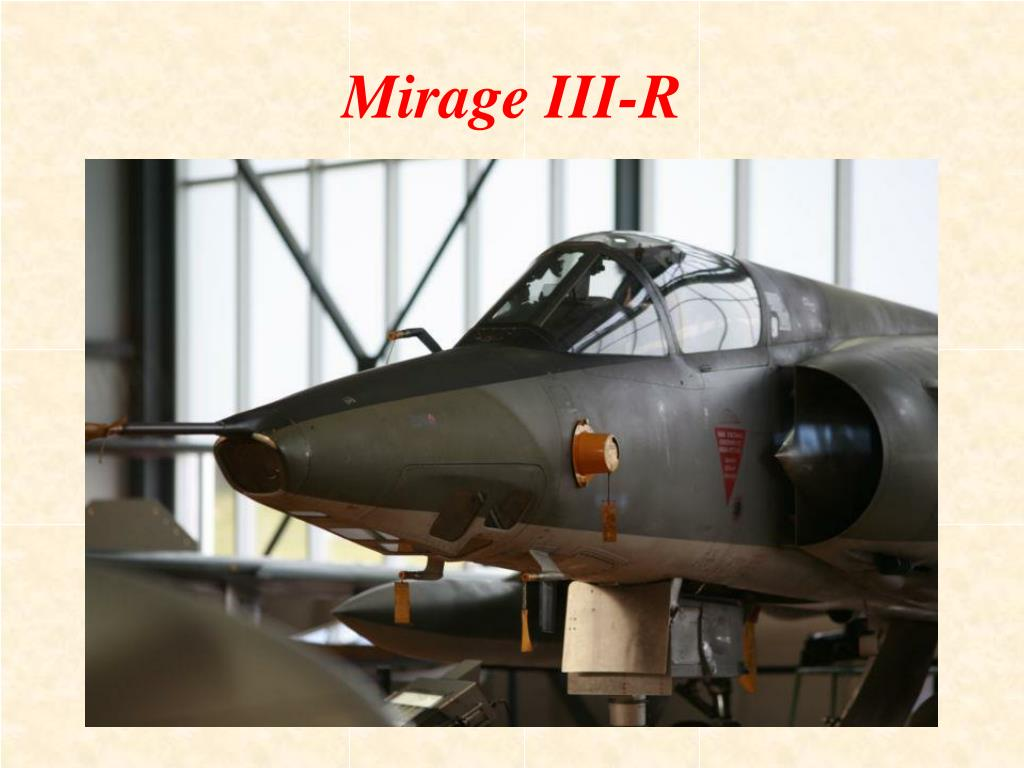 Mirage III-R