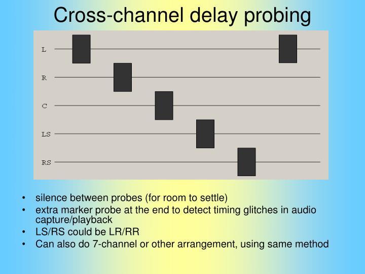 Cross-channel delay probing
