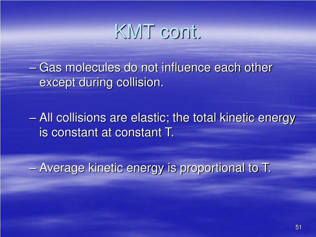 KMT cont.