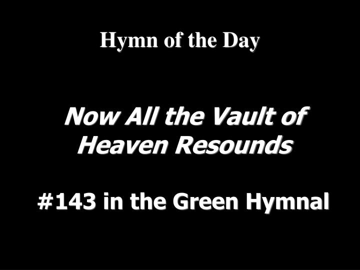 Hymn of the Day