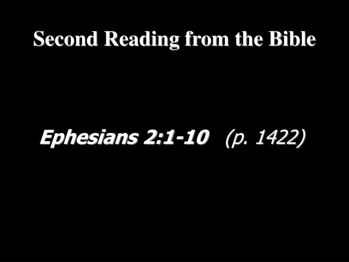 Ephesians 2:1-10