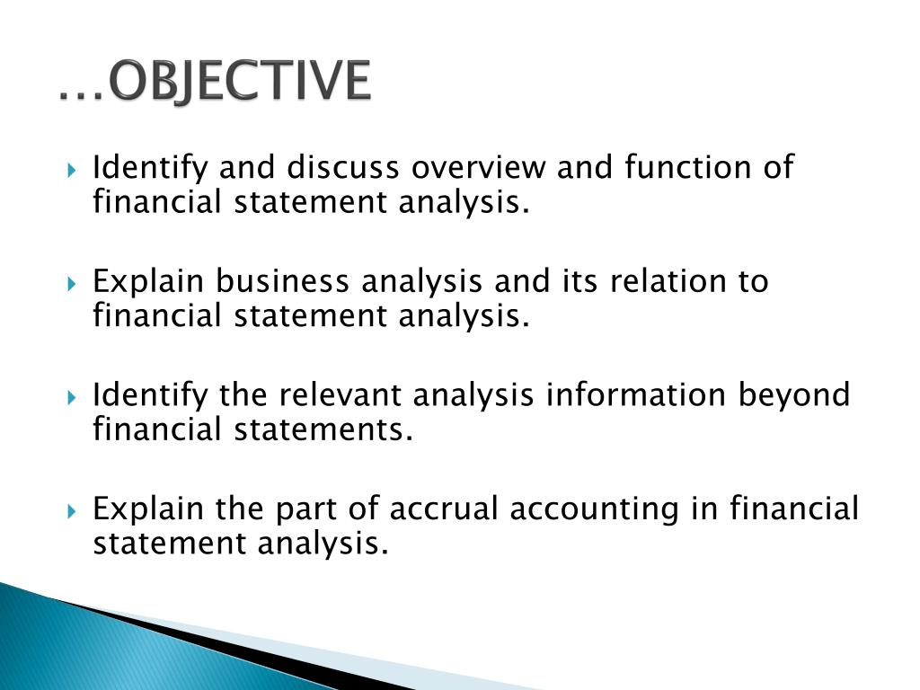 …OBJECTIVE